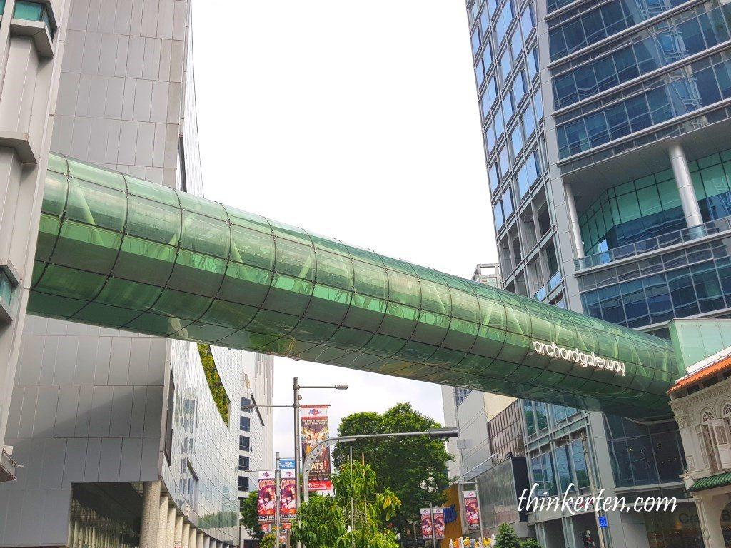 Orchard Gateway Link Bridge Orchard Road Singapore