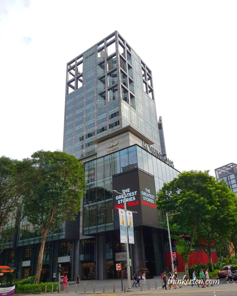Robinsons Orchard Road Singapore