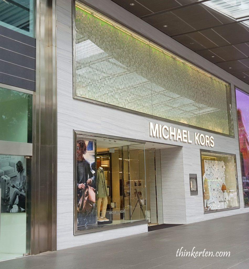 Michael Kors Orchard Road Singapore