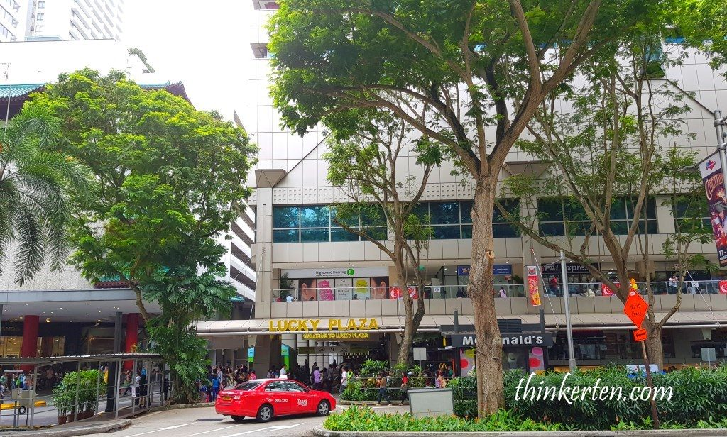 Lucky Plaza Orchard Road Singapore