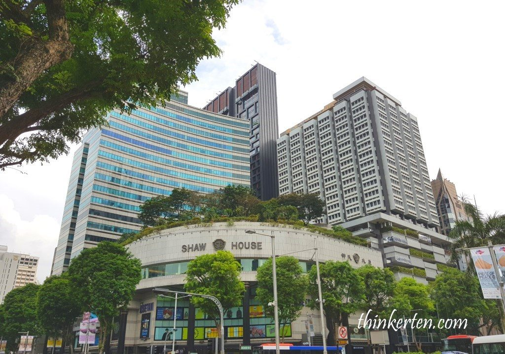 Shaw House Orchard Road Singapore