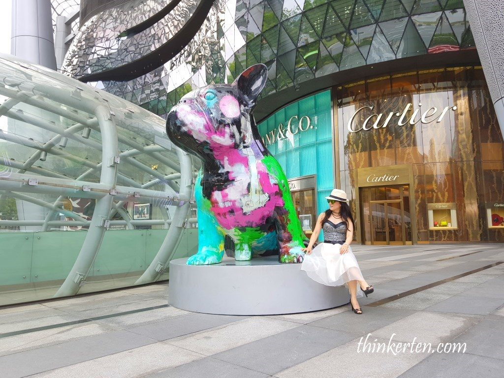 Doggy John Sculpture Orchard Road Singapore