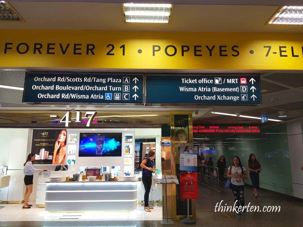 Orchard MRT Orchard Road Singapore
