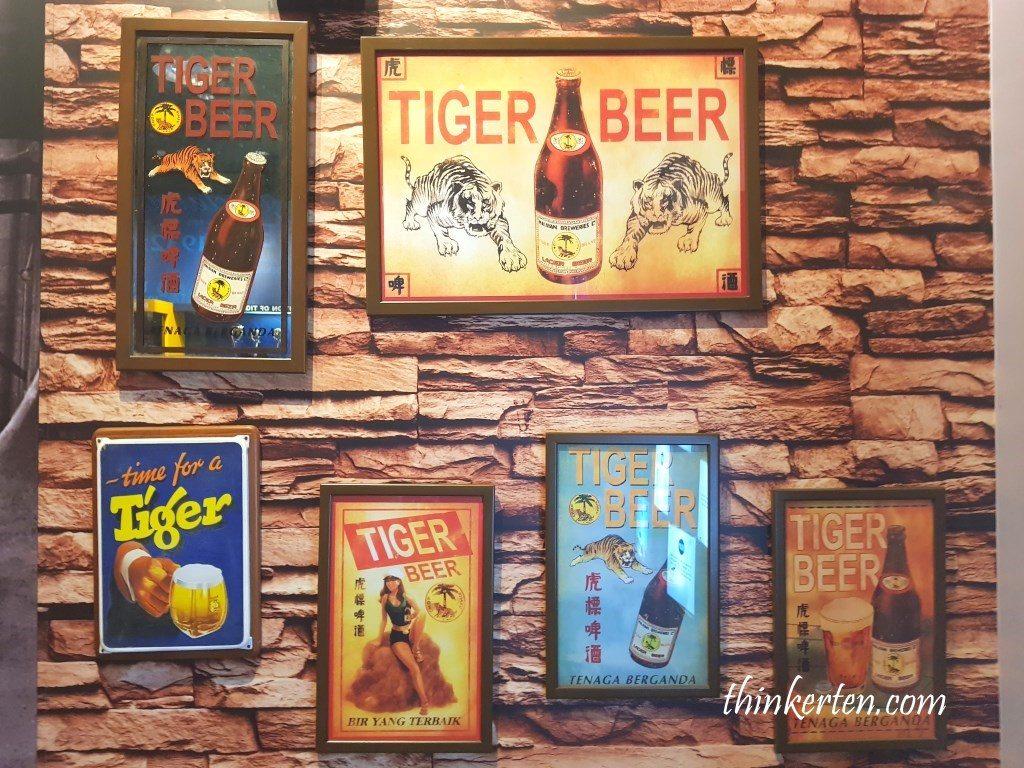 Mini Museum at Tiger Beer Factory Tour