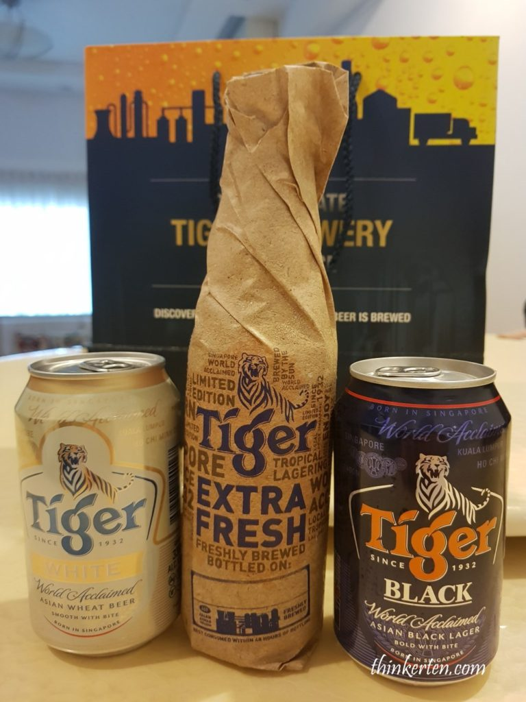 Gift from Tiger Beer Factory Tour