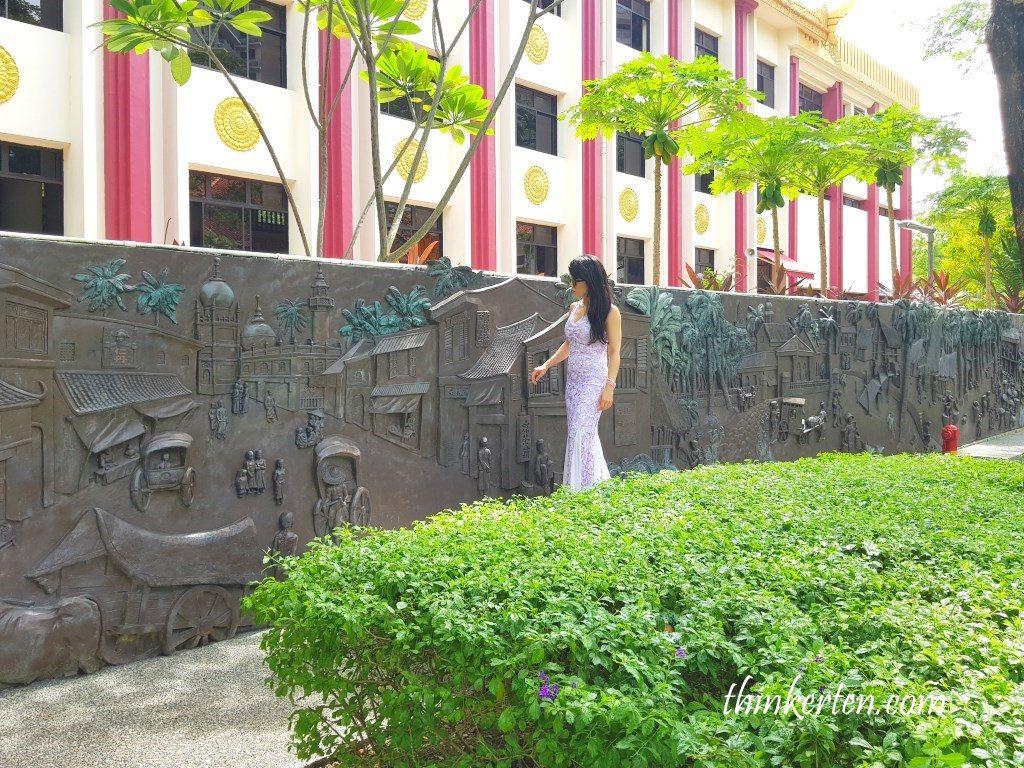 Bronze Mural Wall at Wan Qing Yuan/晚晴园