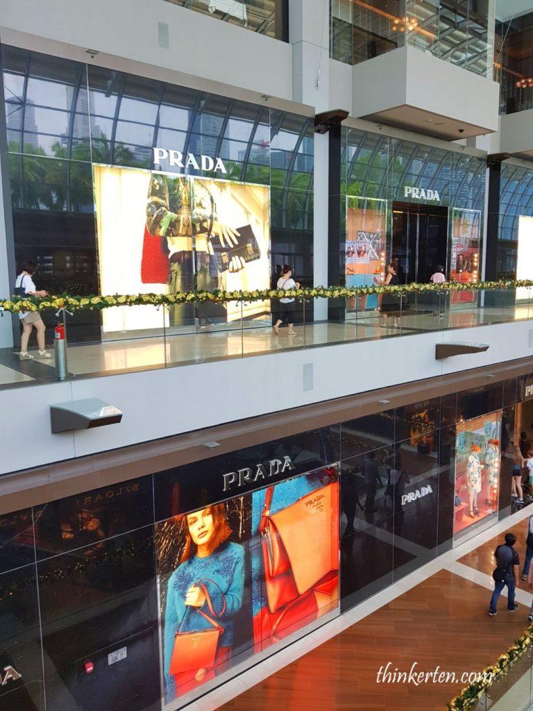 Marina Bay Sands Shoppes