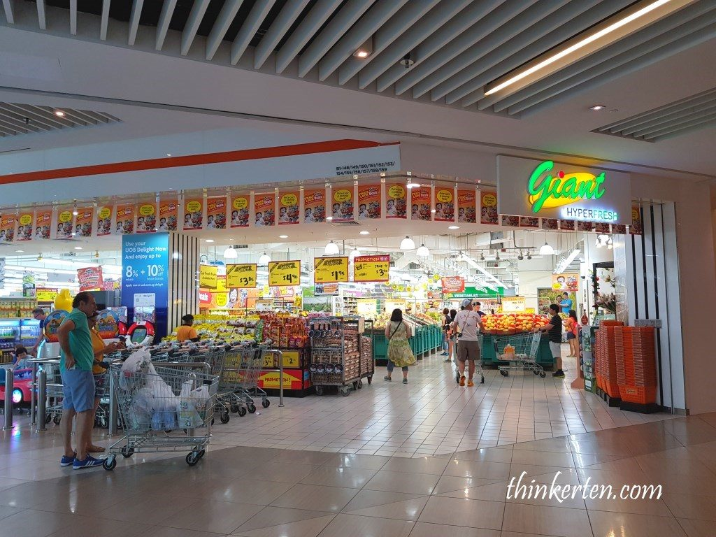 Giant Hypermarket Suntec City Singapore