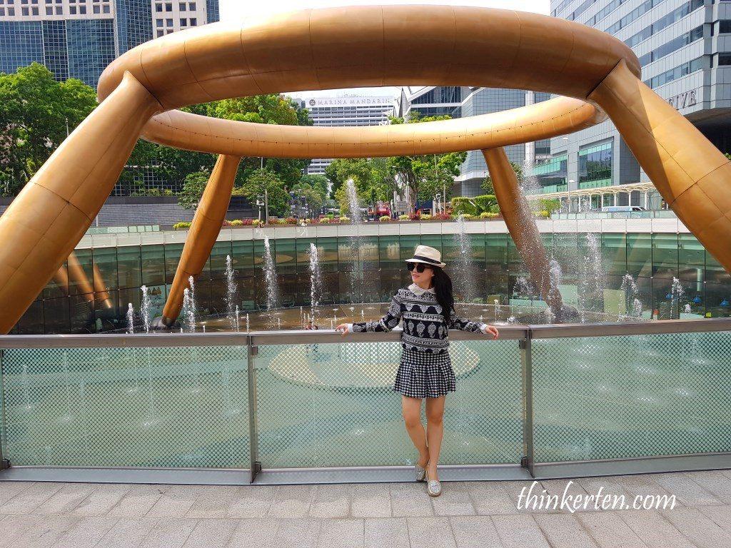 Fountain of Wealth Suntec City Singapore