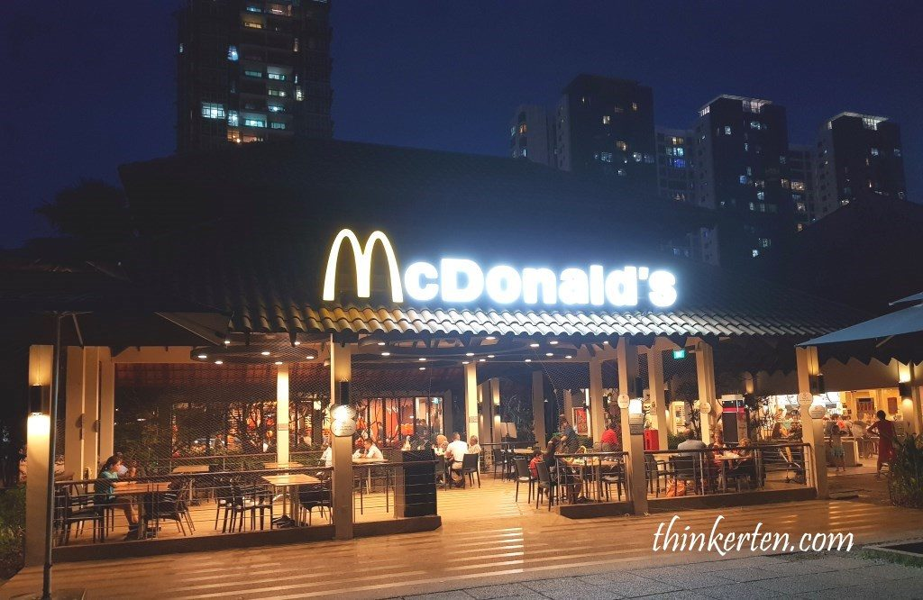 McDonald's at West Coast Park Singapore