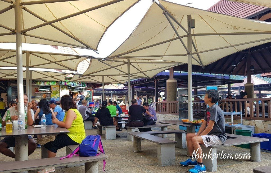 East Coast Park Singapore - Food Village