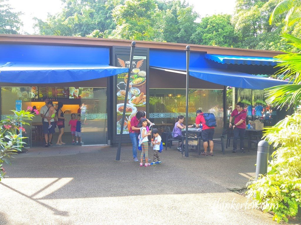 Eatery Place at Singapore Jurong Bird Park
