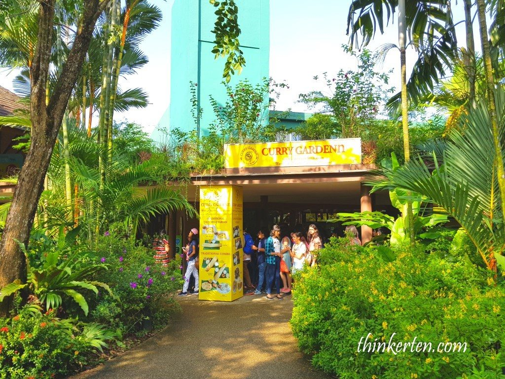 Curry Garden at Singapore Jurong Bird Park