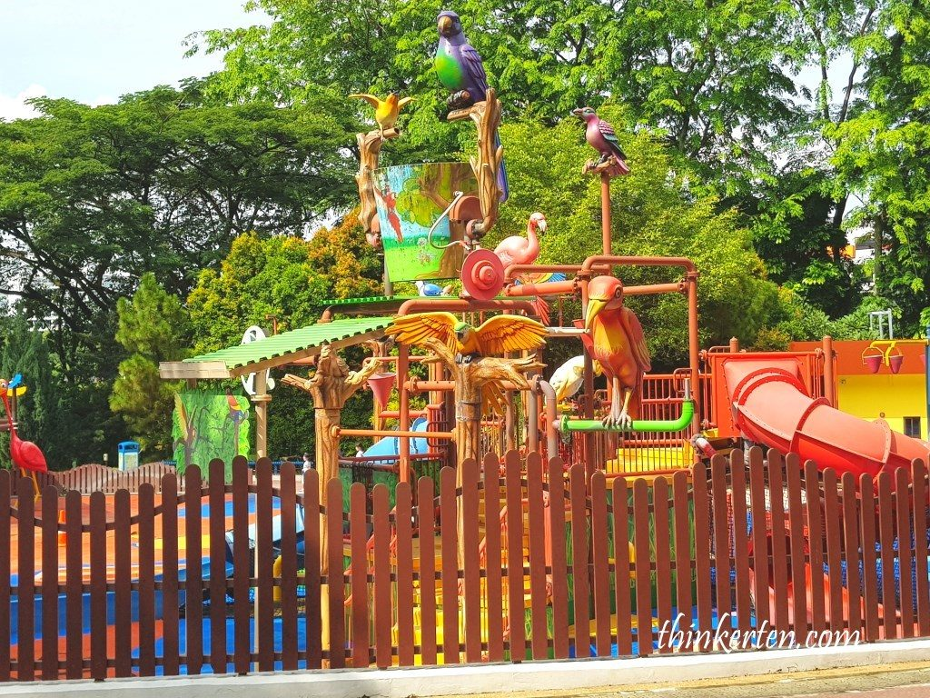Playground at Jurong Bird Park