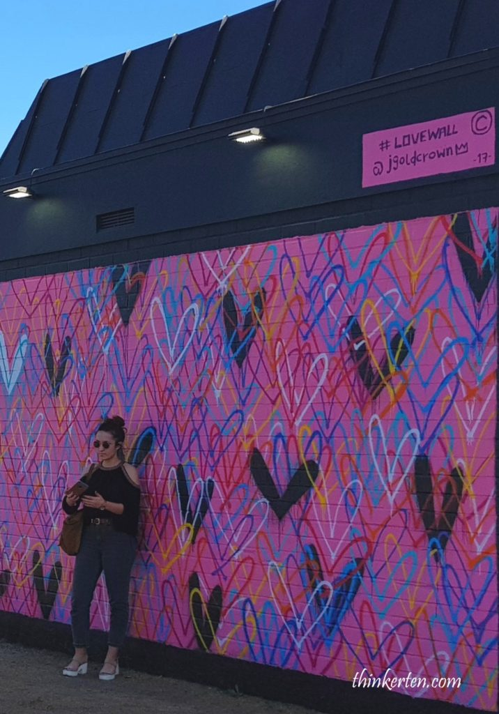 Beverly Hills love wall