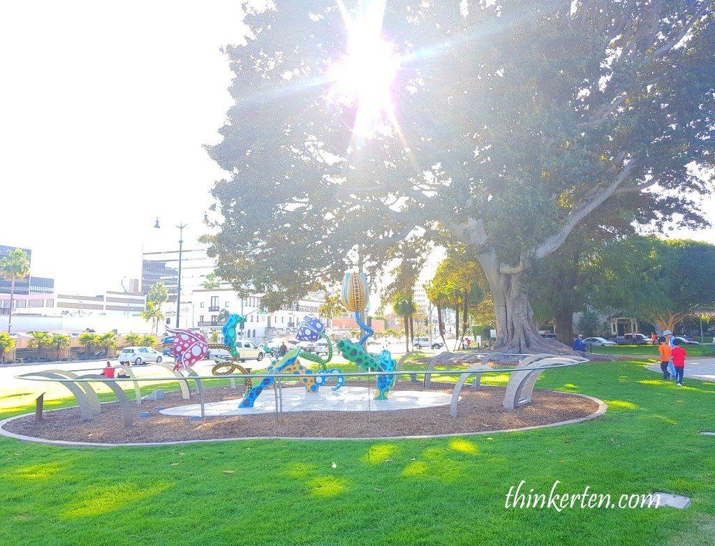 Beverly Hills Sculpture for Yayoi Kusama