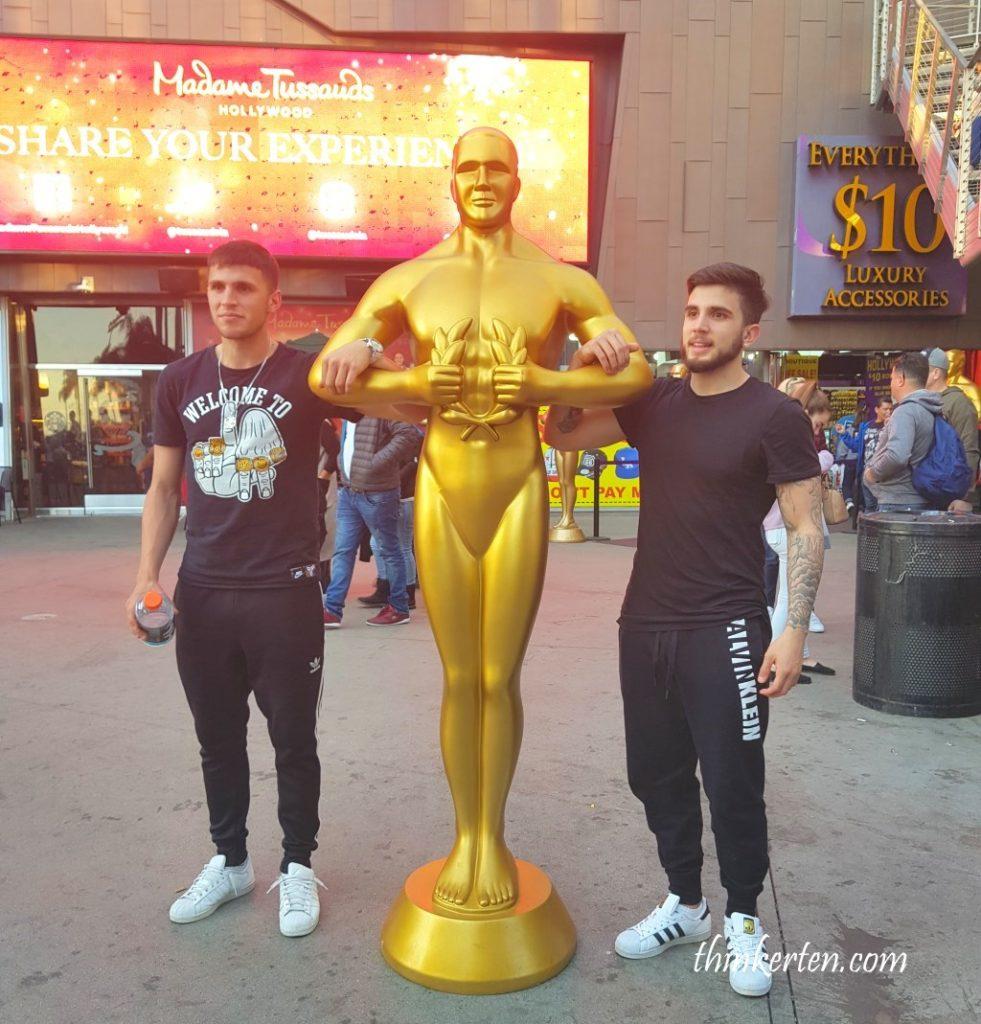 Hollywood Walk of Fame - Oscar Trophy
