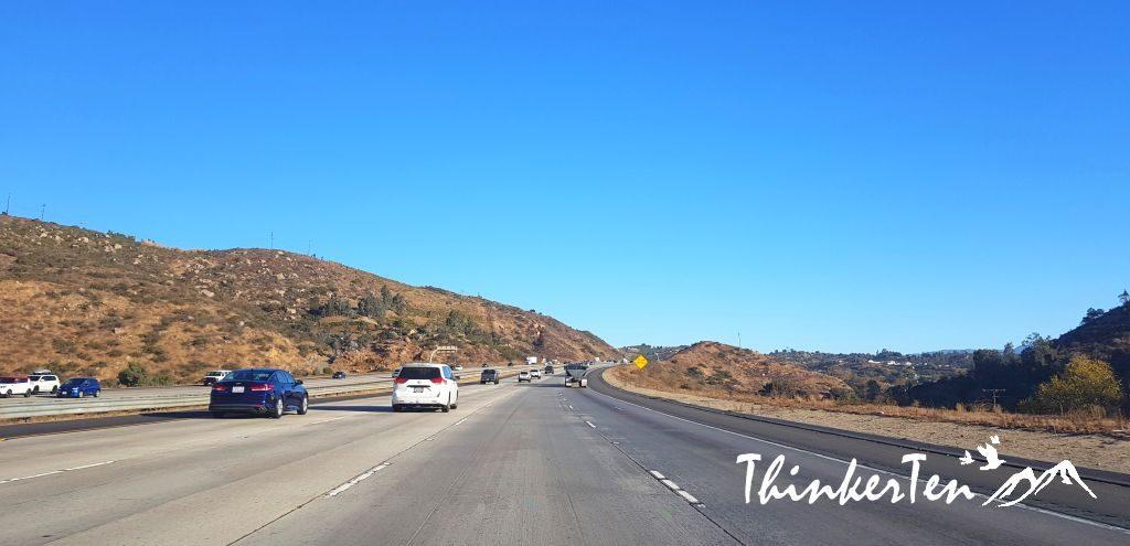 San Diego to Palm Springs California