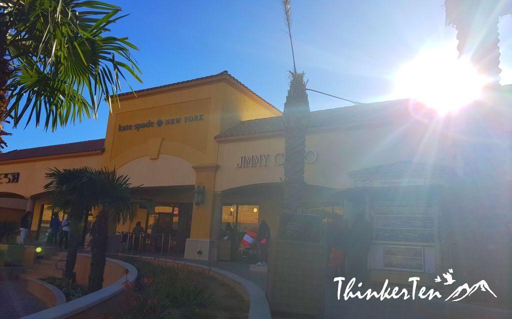 Desert Hills Cabazon premium outlets California