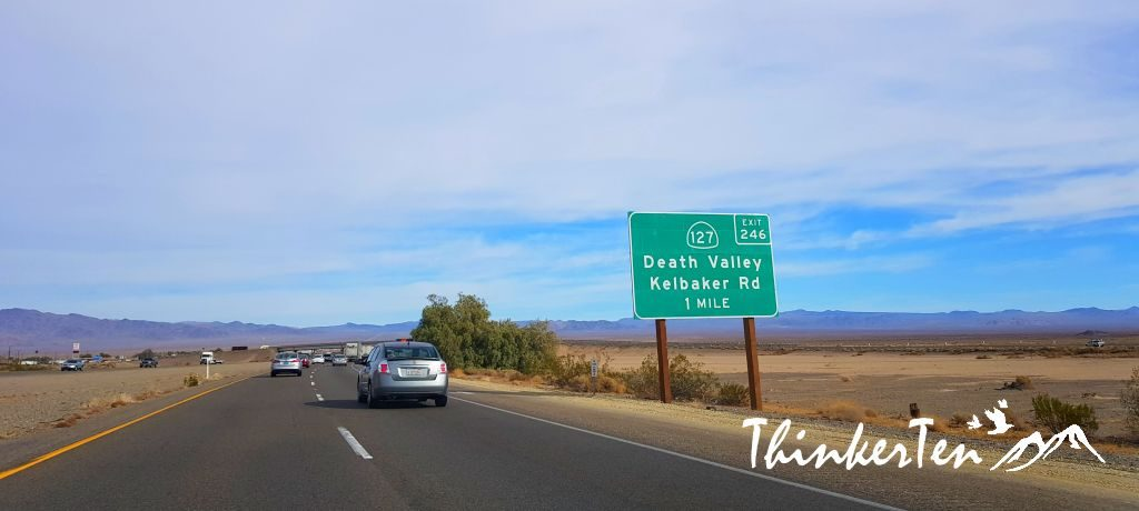 Road Trip from Palm Springs to Las Vegas