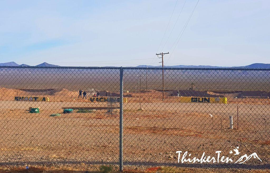 Shooting Range at Arizona Last Stop