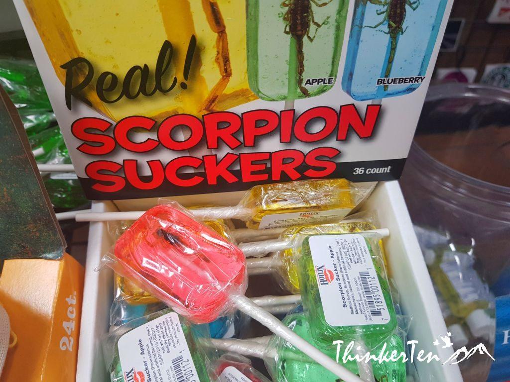 Scorpion Suckers Candy