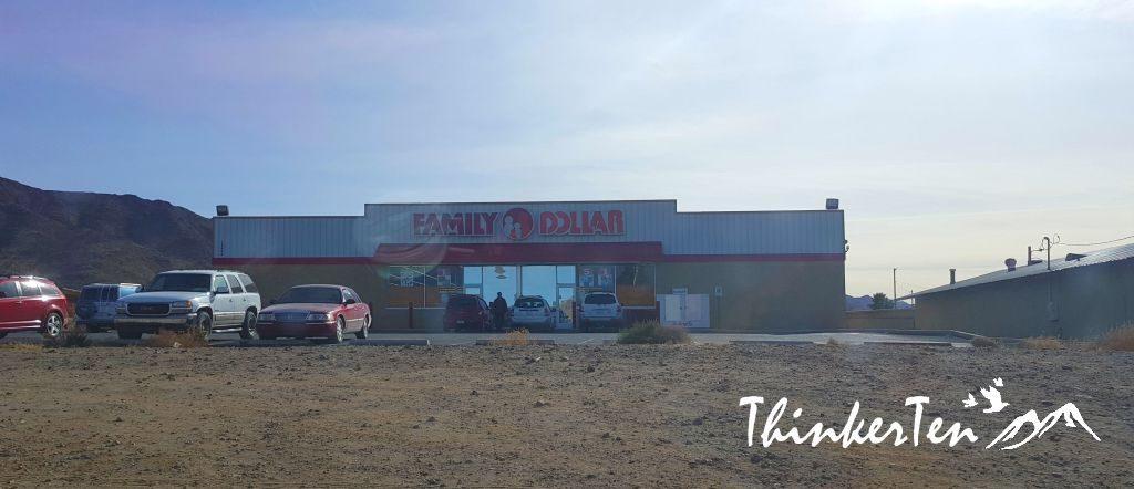 Family Dollar at Dolan Springs Arizona