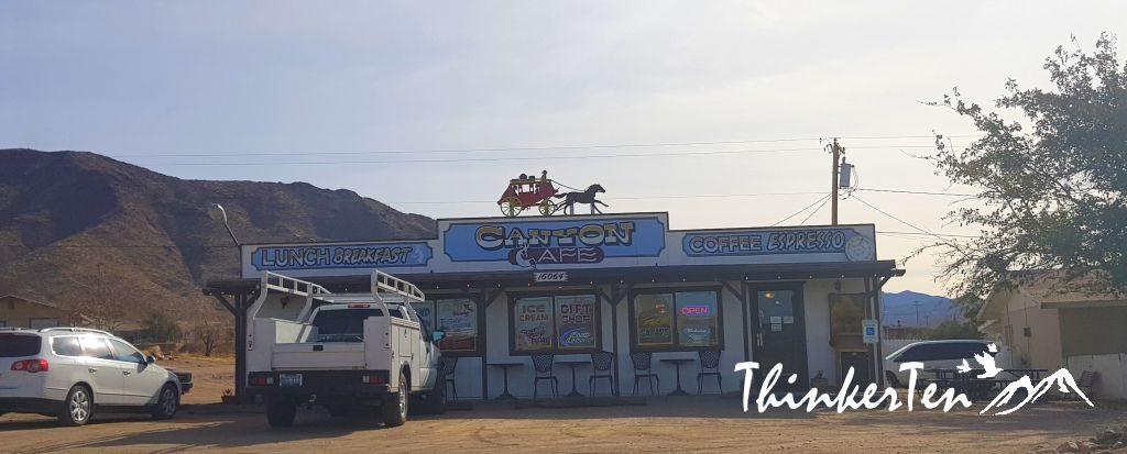 Canyon Cafe at Dolan Springs Arizona