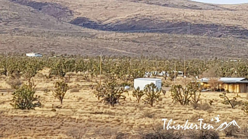 Residents at Dolan Springs Arizona