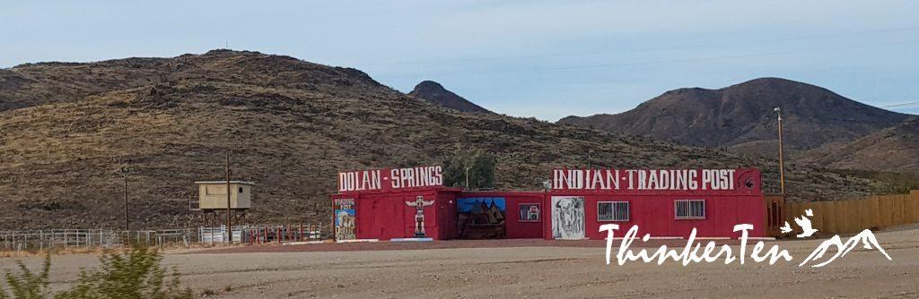 Indian Trading Post at Dolan Springs Arizona