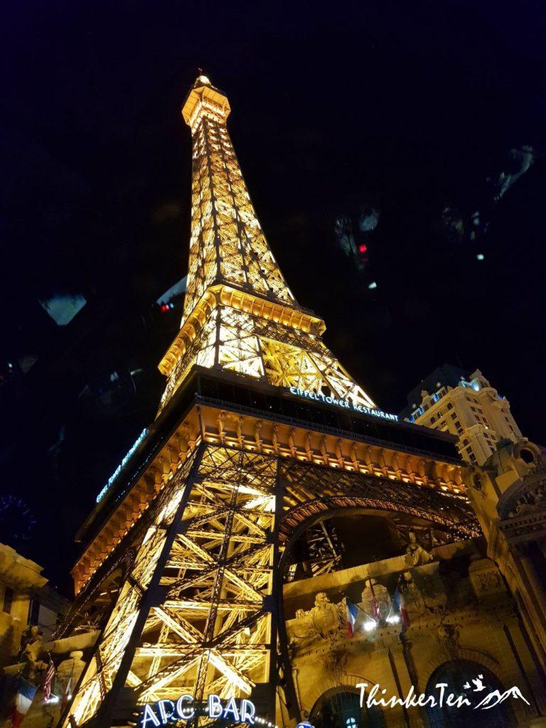 Paris Tower The Strip Las Vegas