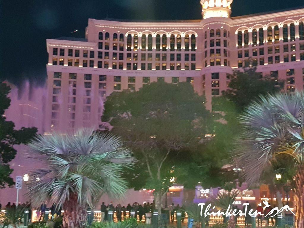 Fountain at The Strip Las Vegas