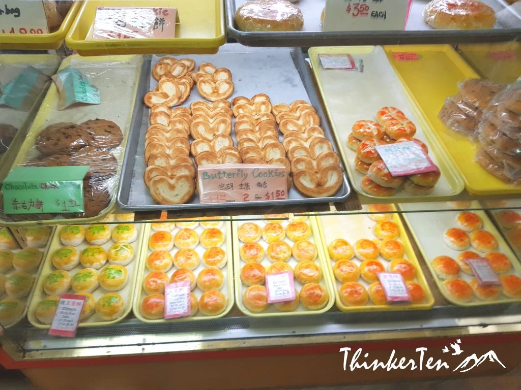 Eastern Bakery in San Francisco China town