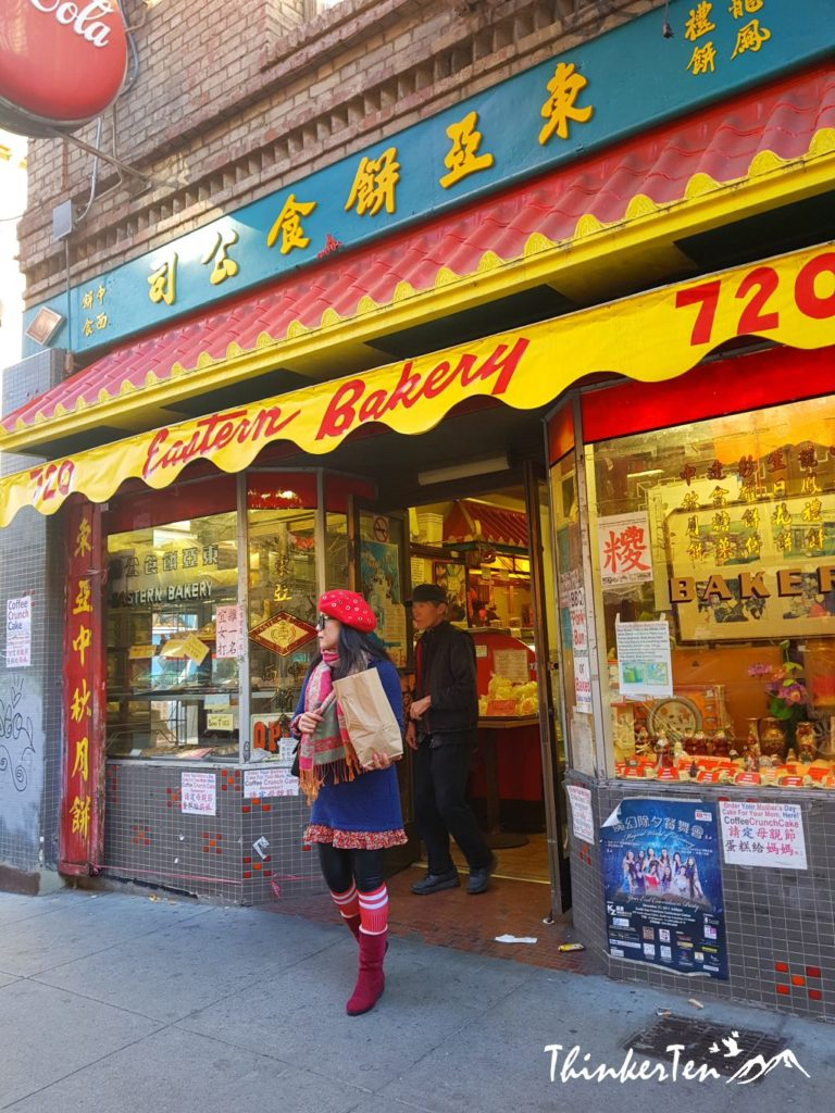 Bruce Lee Birth Place - San Francisco China Town California