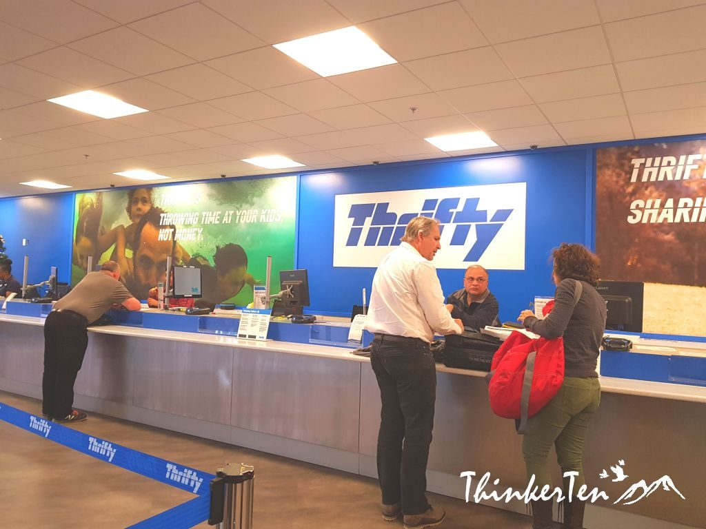 How To Rent A Car At Thrifty Car Rental For US Road Trip!