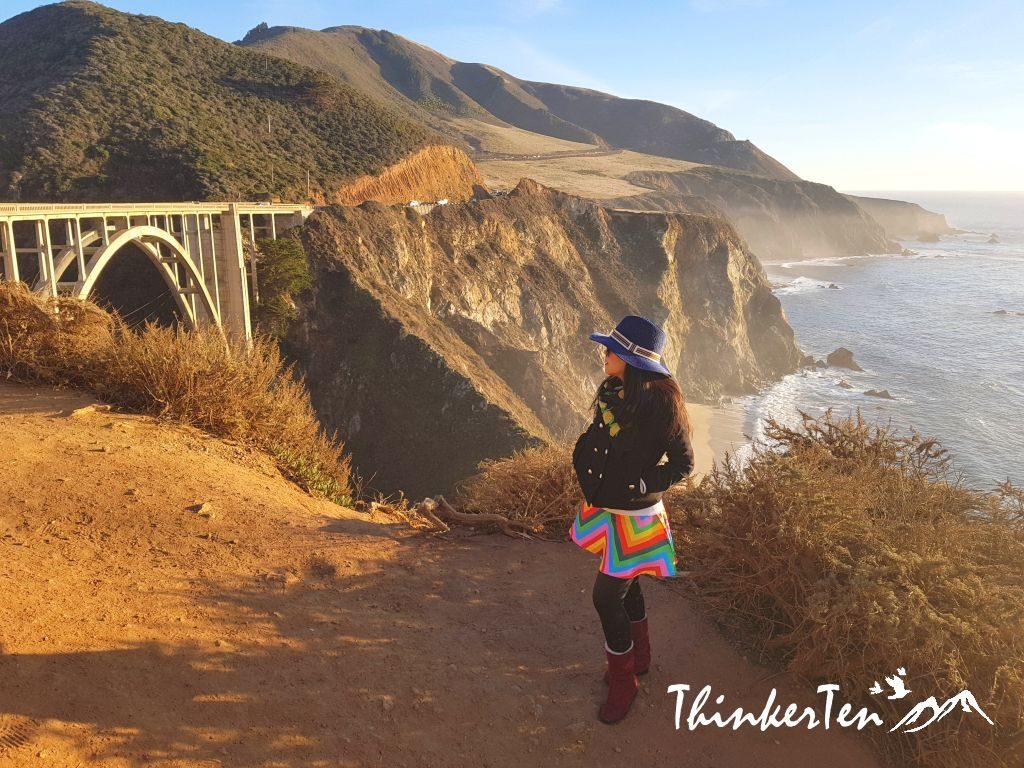 Most Photographed Bridge - Bixby Creek Bridge, Monterey California USA