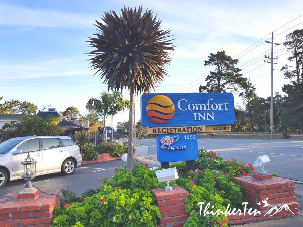 USA - California : Comfort Inn Monterey By The Sea - Hotel Review