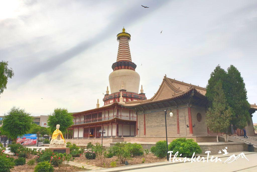 Silk Road China - Zhangye : Dafo/ Big Buddha Temple