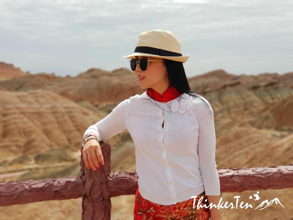 Silk Road : UNESCO World Heritage Site - Zhangye Danxia Mountain