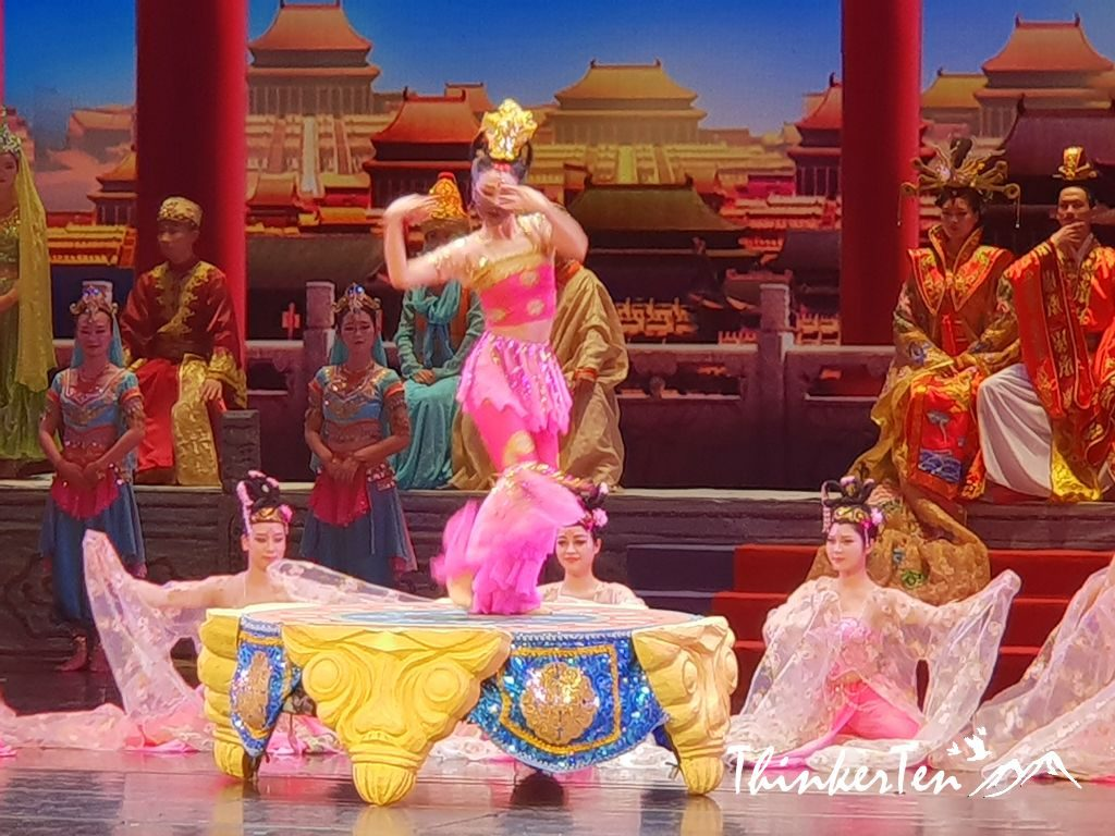 Silk Road China : Legend of Dunhuang Show - Flying Apsaras/Feitian 飞天