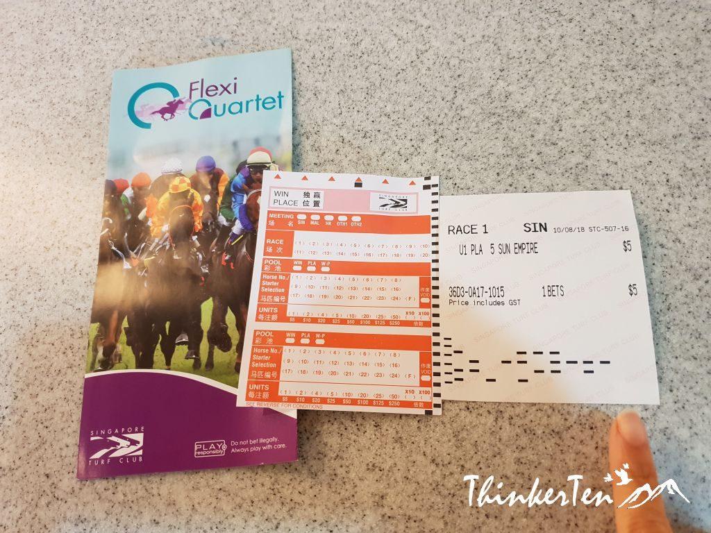 Experience Horse Racing at Singapore Turf Club - Kranji Racecourse in Singapore Way!
