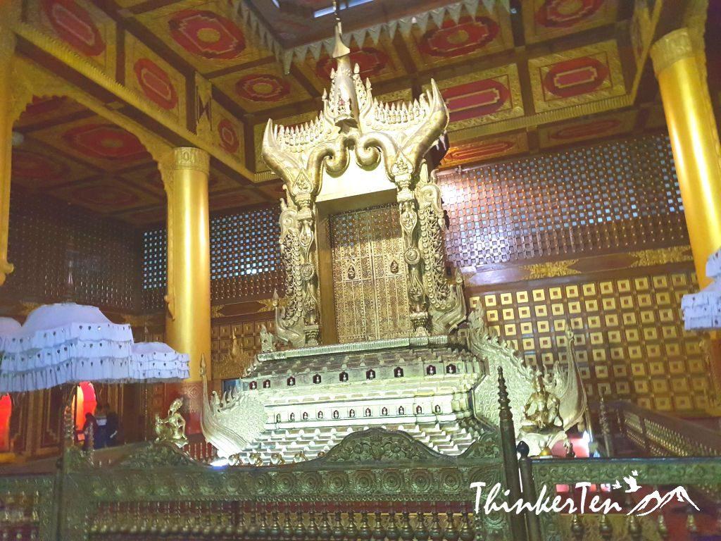 Yangon : Raining outdoor, no problem! Go visit National Museum of Myanmar