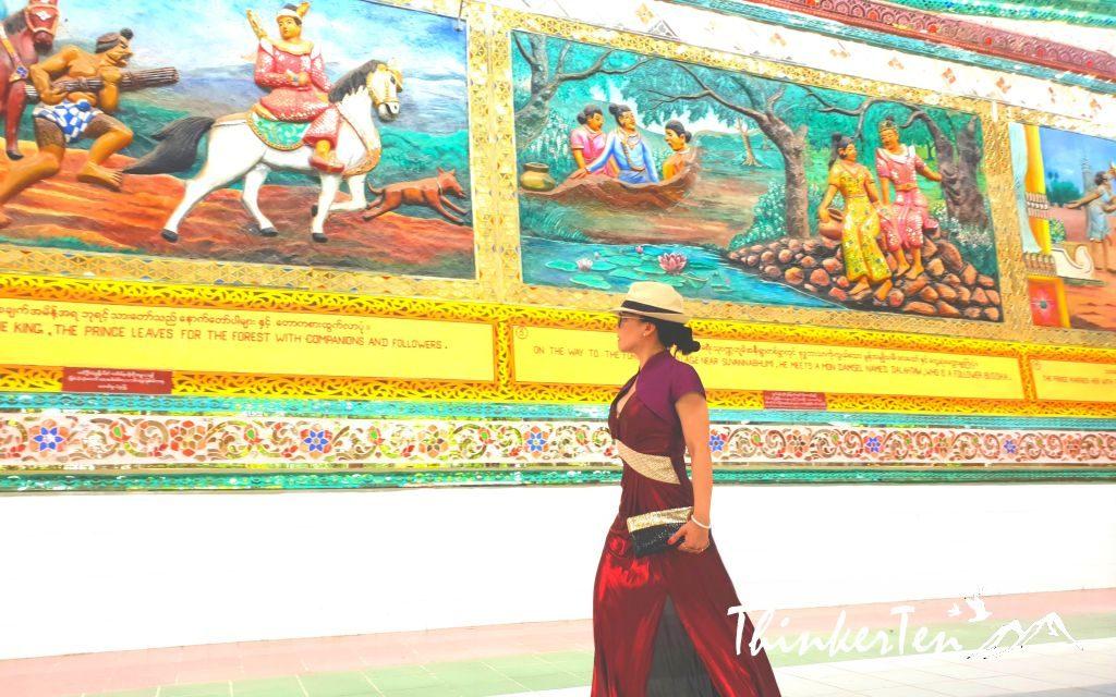 Myanmar : Bago Reclining Shwethalyaung Buddha (Indoor)