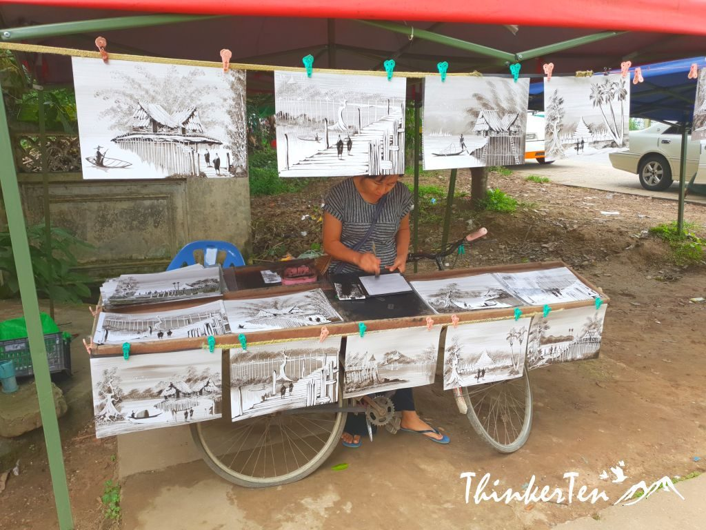 Myanmar : Unexpected Discovery - White Elephant in Hsin Hpyu Daw Park Yangon