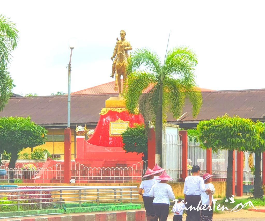 Myanmar Tallest Pagoda : Bago Golden God Temple - Shwemawdaw Pagoda