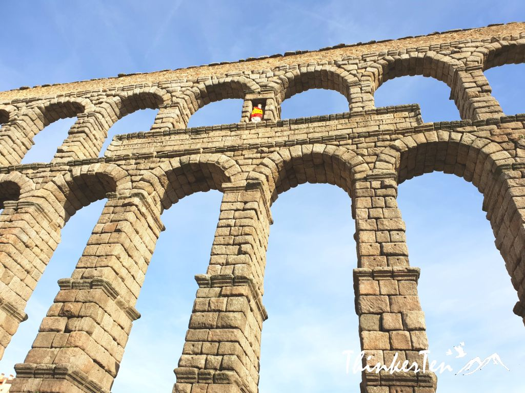 Roman Empire's most impressive works of engineering - The Aqueduct of Segovia in Spain