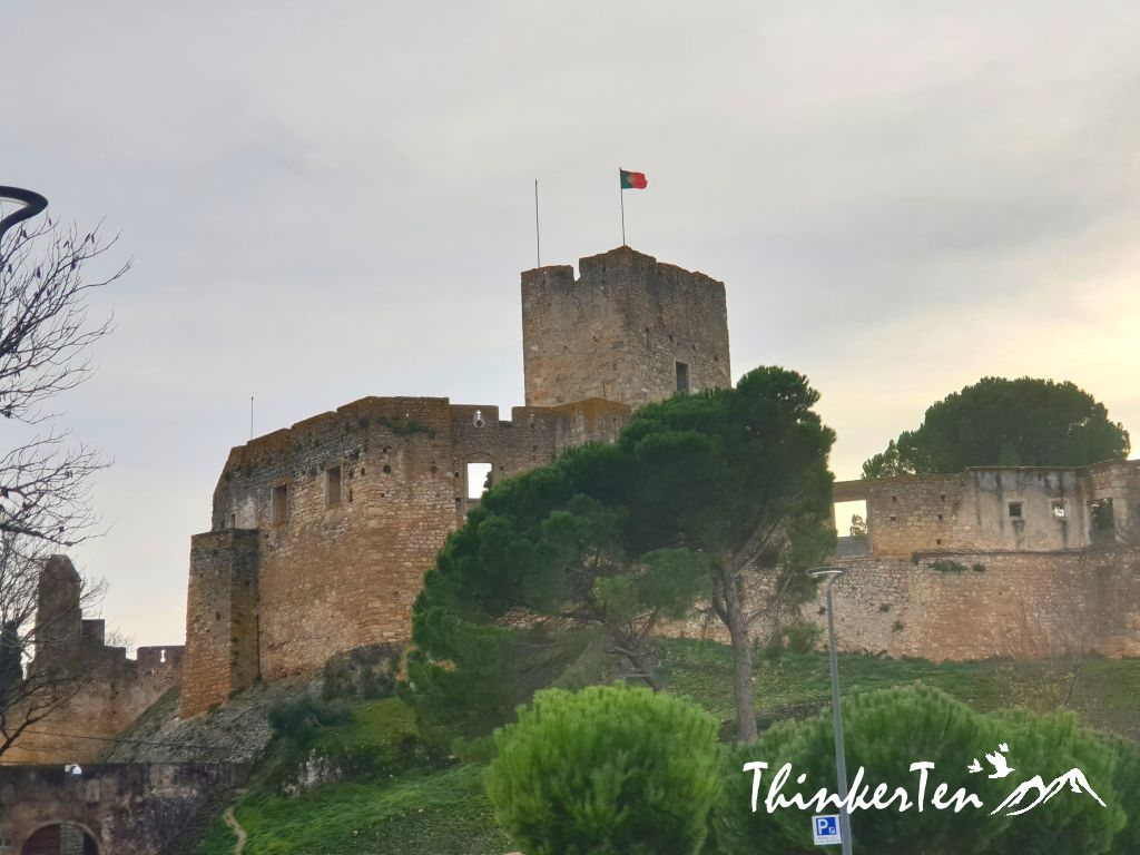 Knights Templar of the Convent of Christ in Tomar city, Portugal