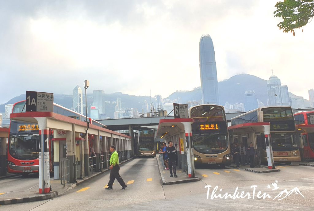 Get around in Hong Kong with Public Transport