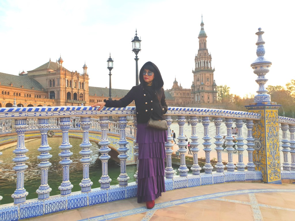 Plaza De Espana Seville Spain Star Wars Scene Chic Explore Thinkerten