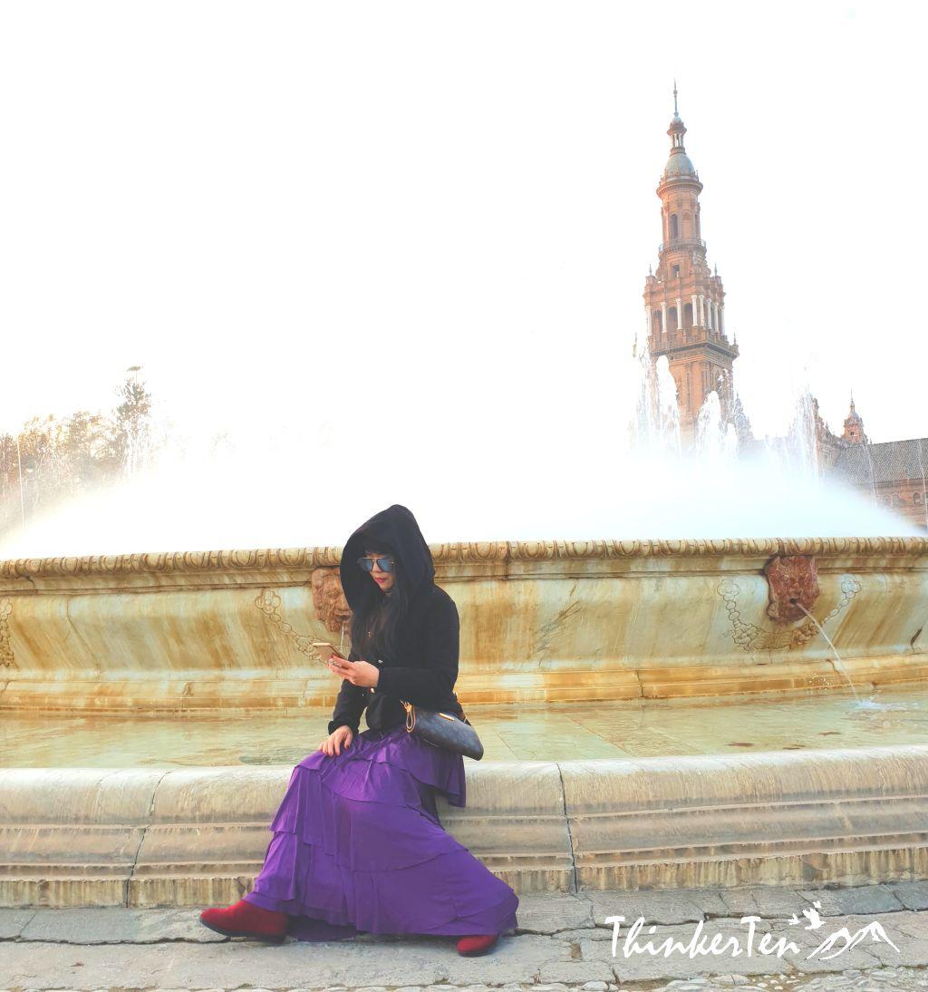 Plaza de España Seville Spain - Star Wars Scene!